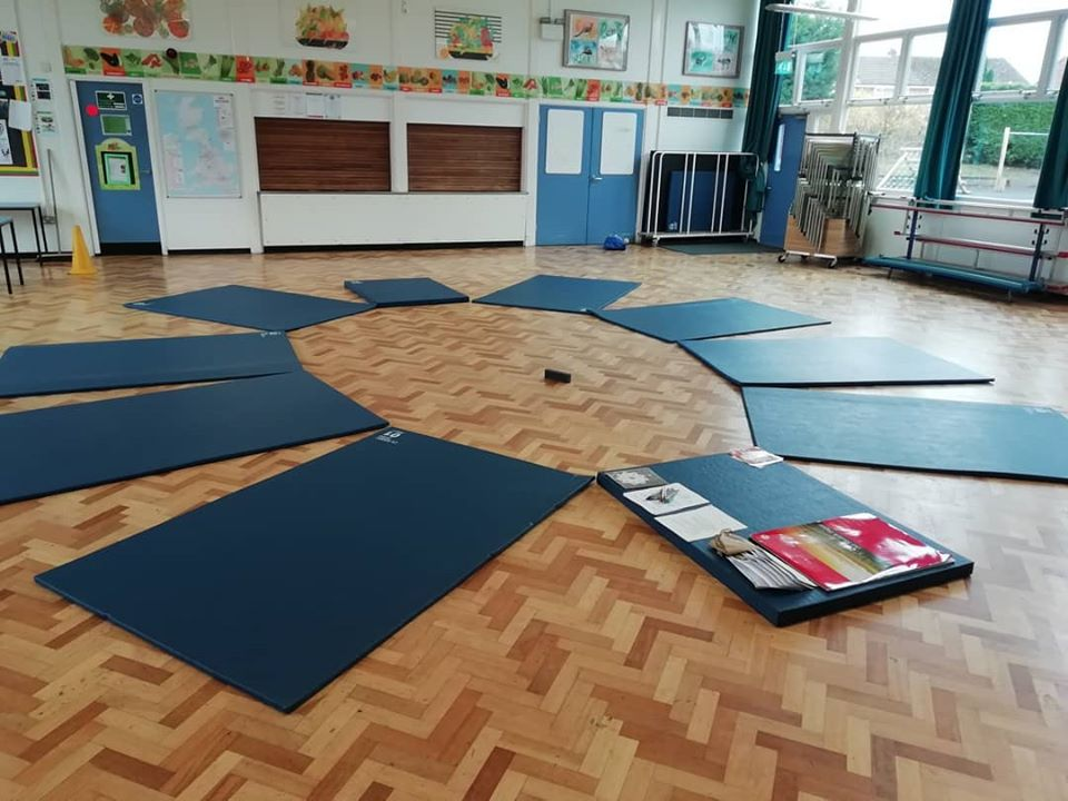 Photo of how room is set up for Coaching in Schools